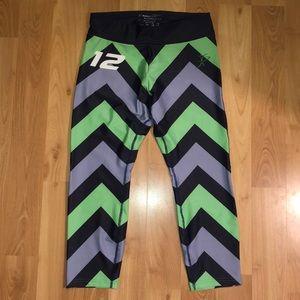 Xertion Fitness Seattle Seahawks crop leggings
